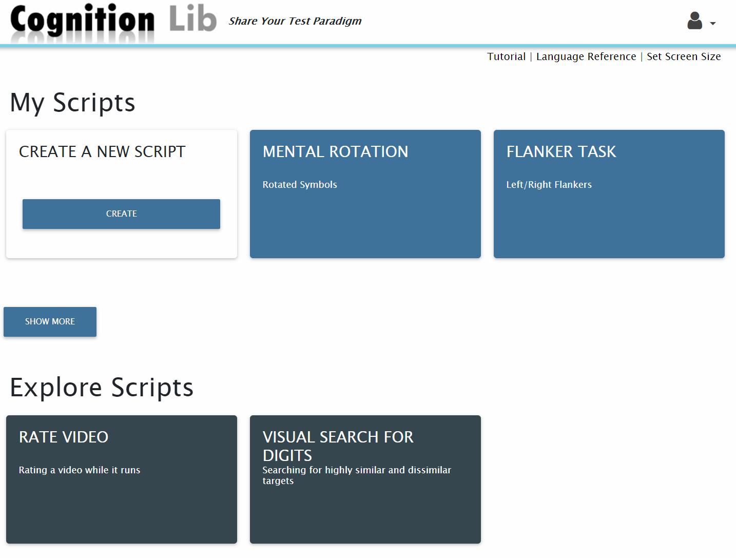 Cognition Lib Screenshot
